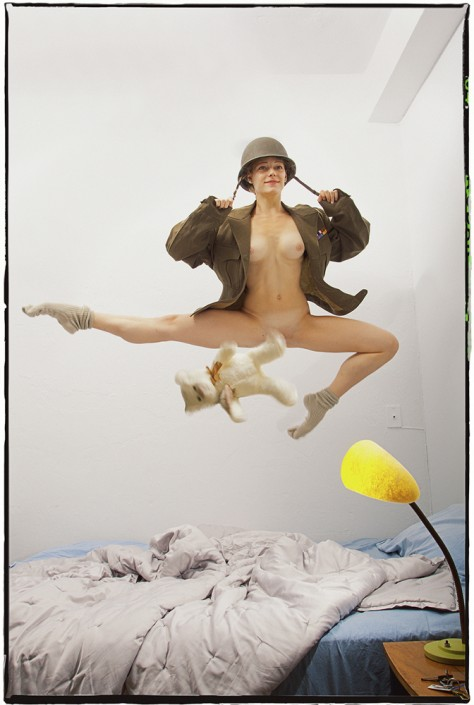 Guy Le Baube, Airborne Front, 2013. Archival pigment print, 28 × 42 in or 71 × 107 cm. Artist's proof.