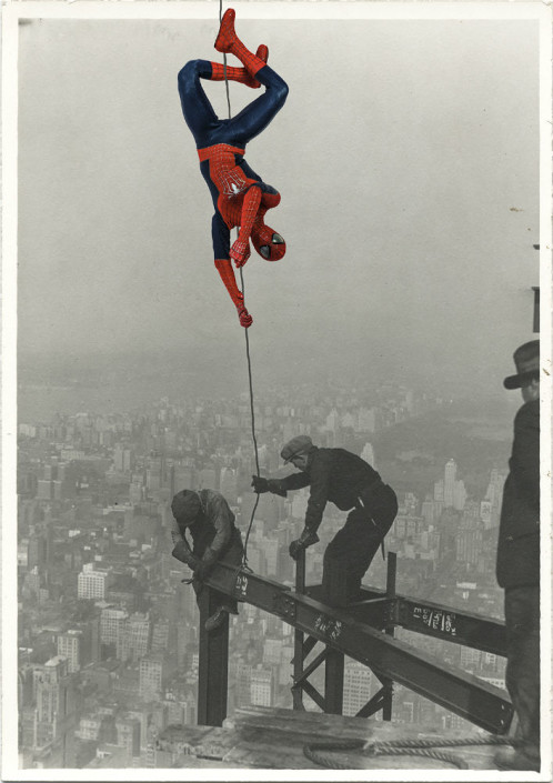 Santlov, Spidey Loves NY, 2015. C Print Mounted on Plexi, 36 × 24 in or 91.4 × 61 cm.