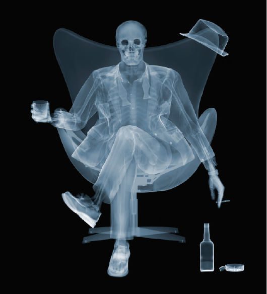 Nick Veasey, Rat Pack, 2016. C-Type Print Mounted on Plexi, Edition 10 40 × 50 in or 102 × 127 cm. Edition 25 23 × 29.5 in or 58.42 × 75 cm.