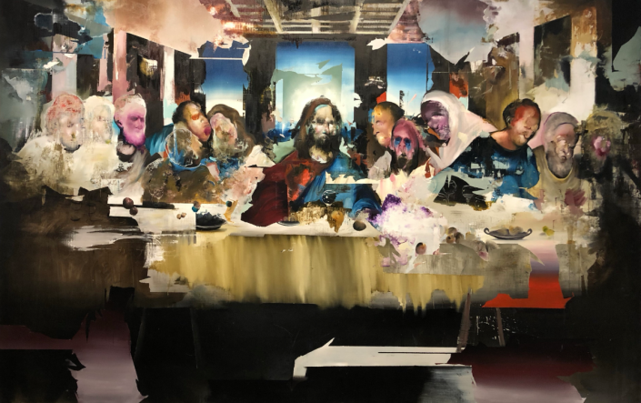 Florian Eyman Last Supper 2020