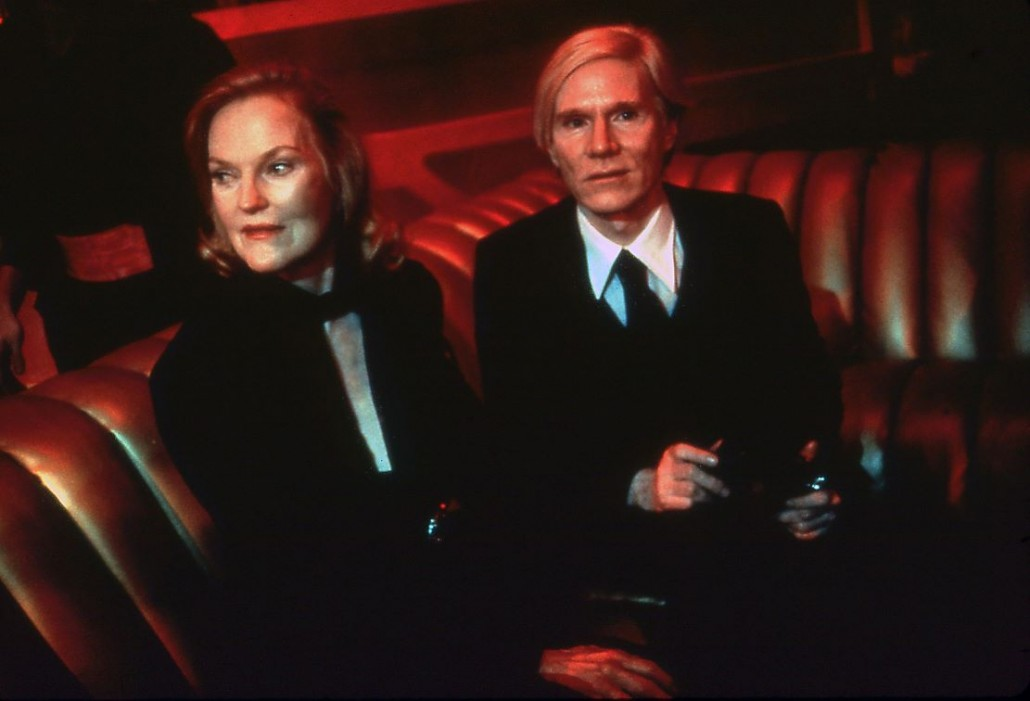 Doris Duke and Andy Warhol