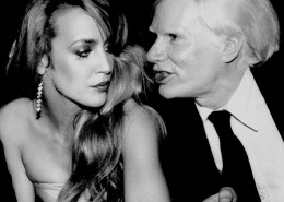Jerry Hall & Andy Warhol