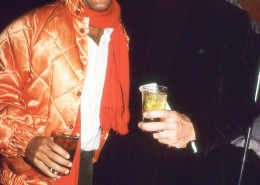 Steve Rubell and Halston